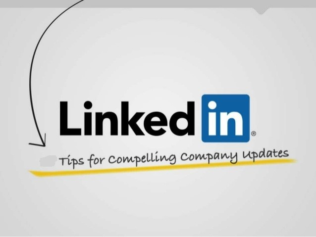 Linkedin Update For Company Page