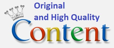 Quality Content - Improves Search Engine Ranking