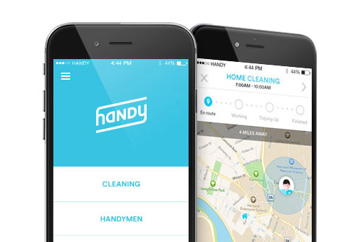 handy app Mobile apps opening doors for shared economy
