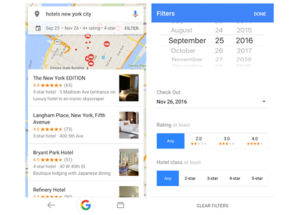 Google Introduces New Hotel Search Filters, Deal Labels and Airline Price Tracking