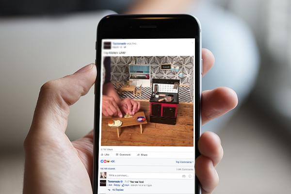 facebook live video for digital marketing