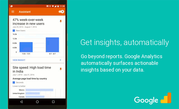 Google Analytics UI Update