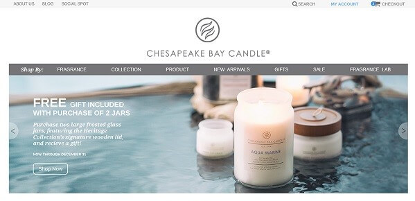 UX in Action Chesapeake Bay Candle