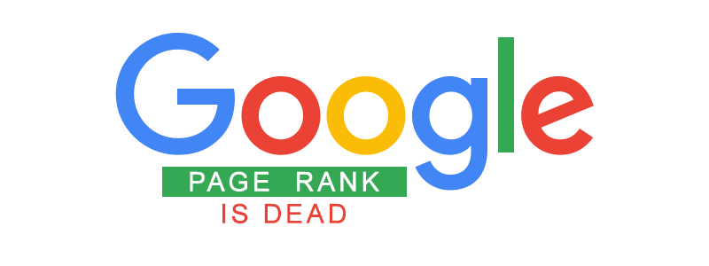 google pagerank is no more