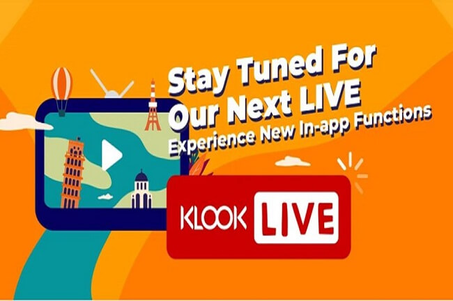 Klook Live travel