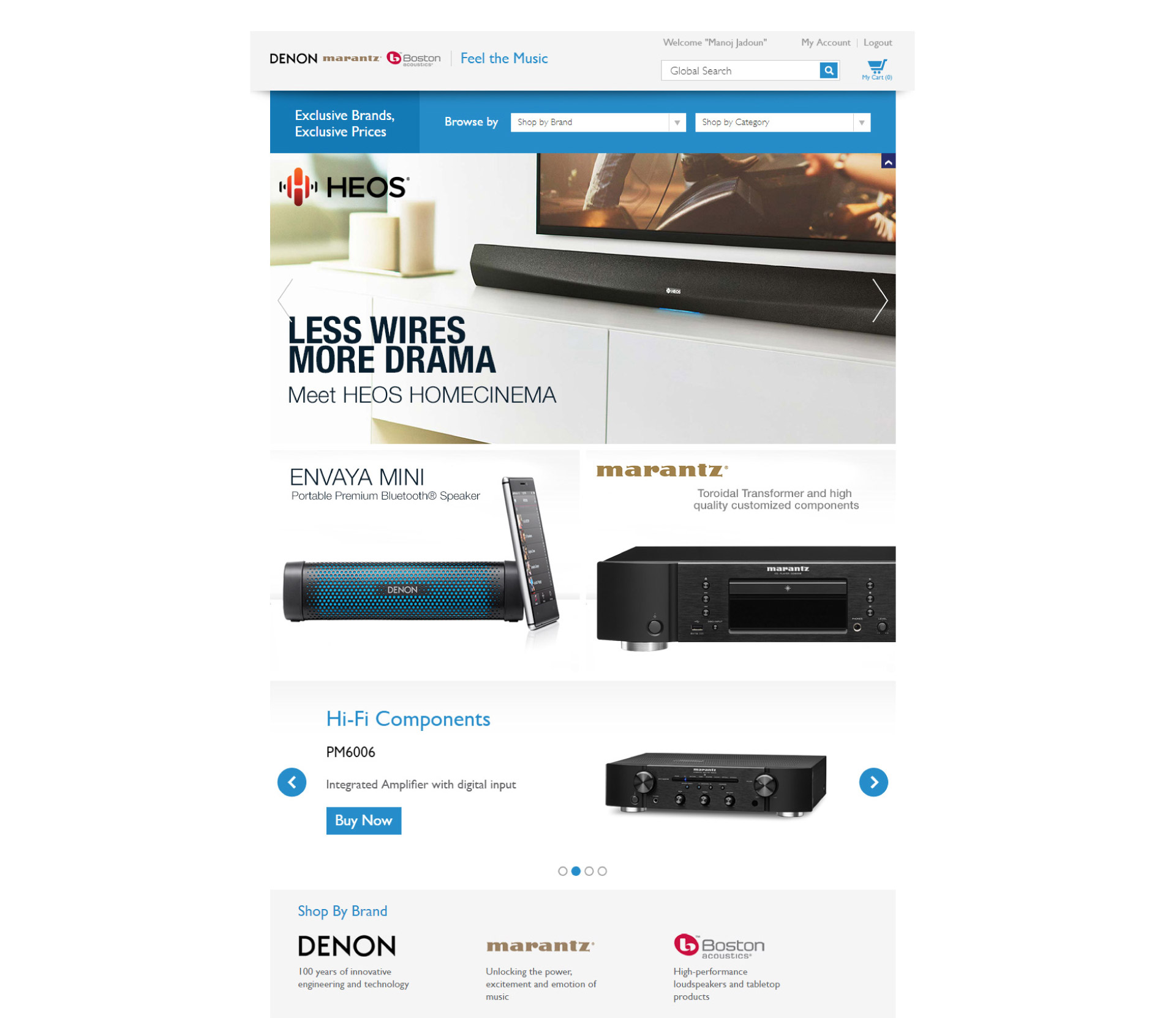 D+M Direct | Web Design
