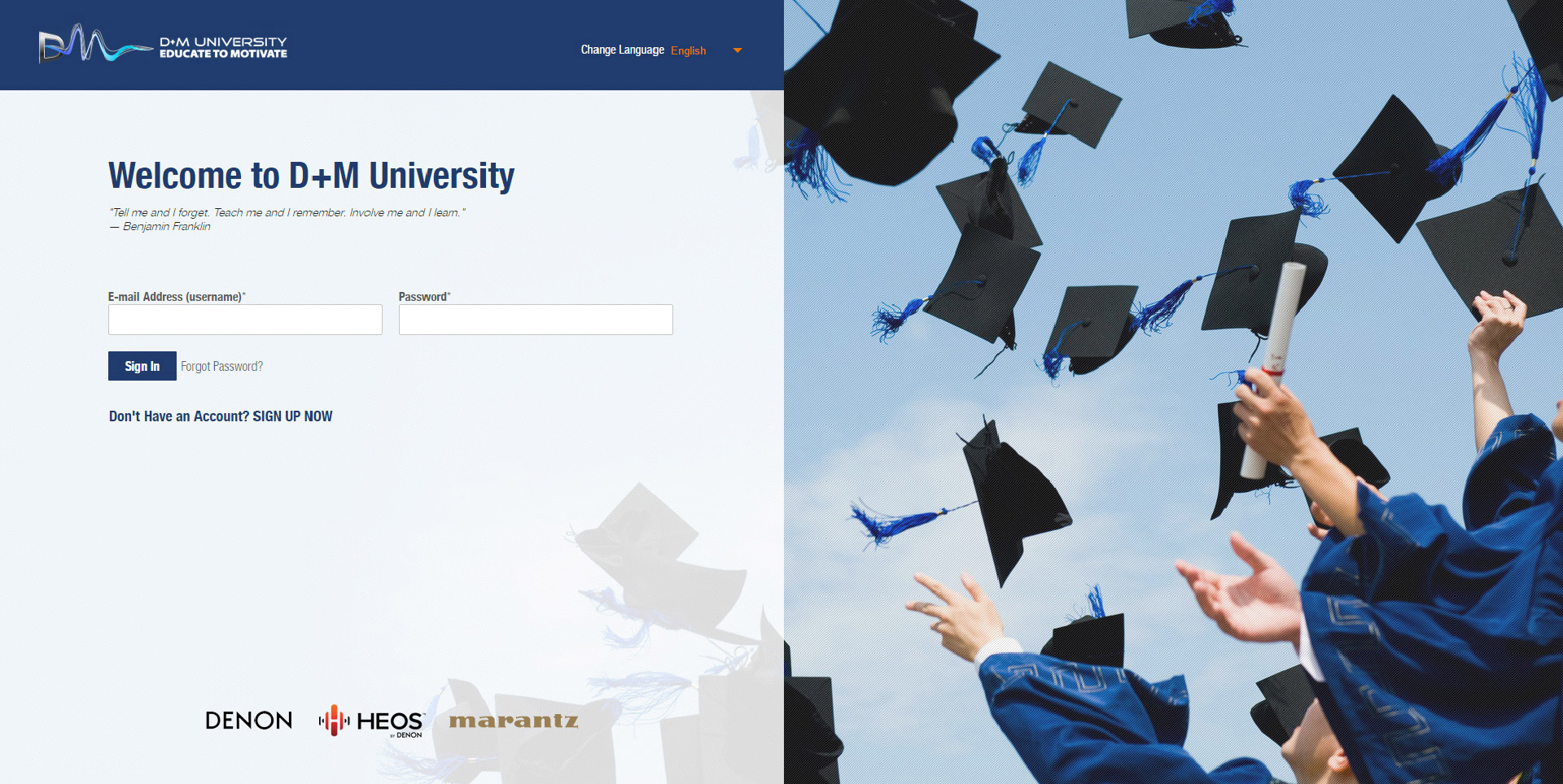 D+M University | Web Development and Mobile App