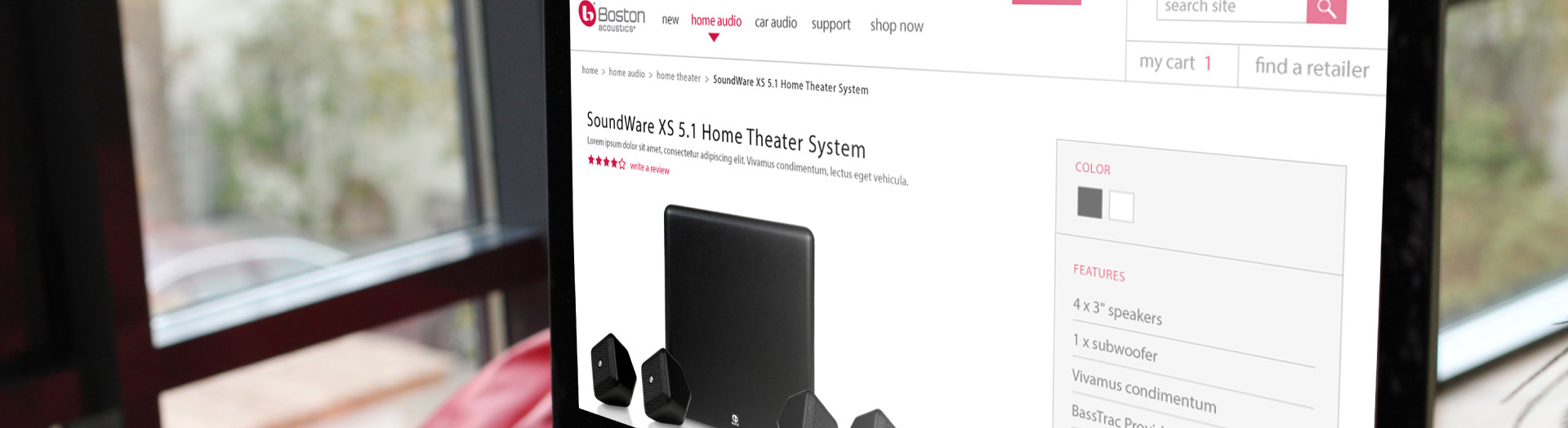 boston-acoustics-Home Theater XS5.1