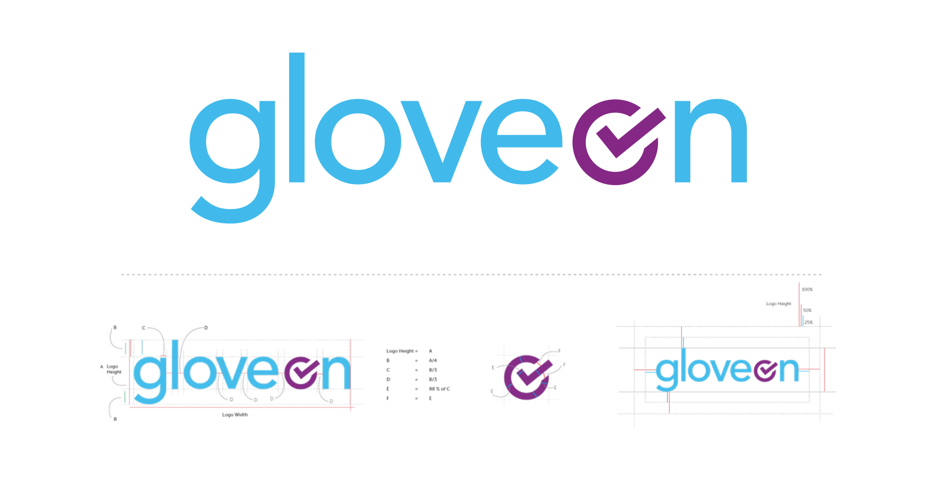 Gloveon  | Brand Development