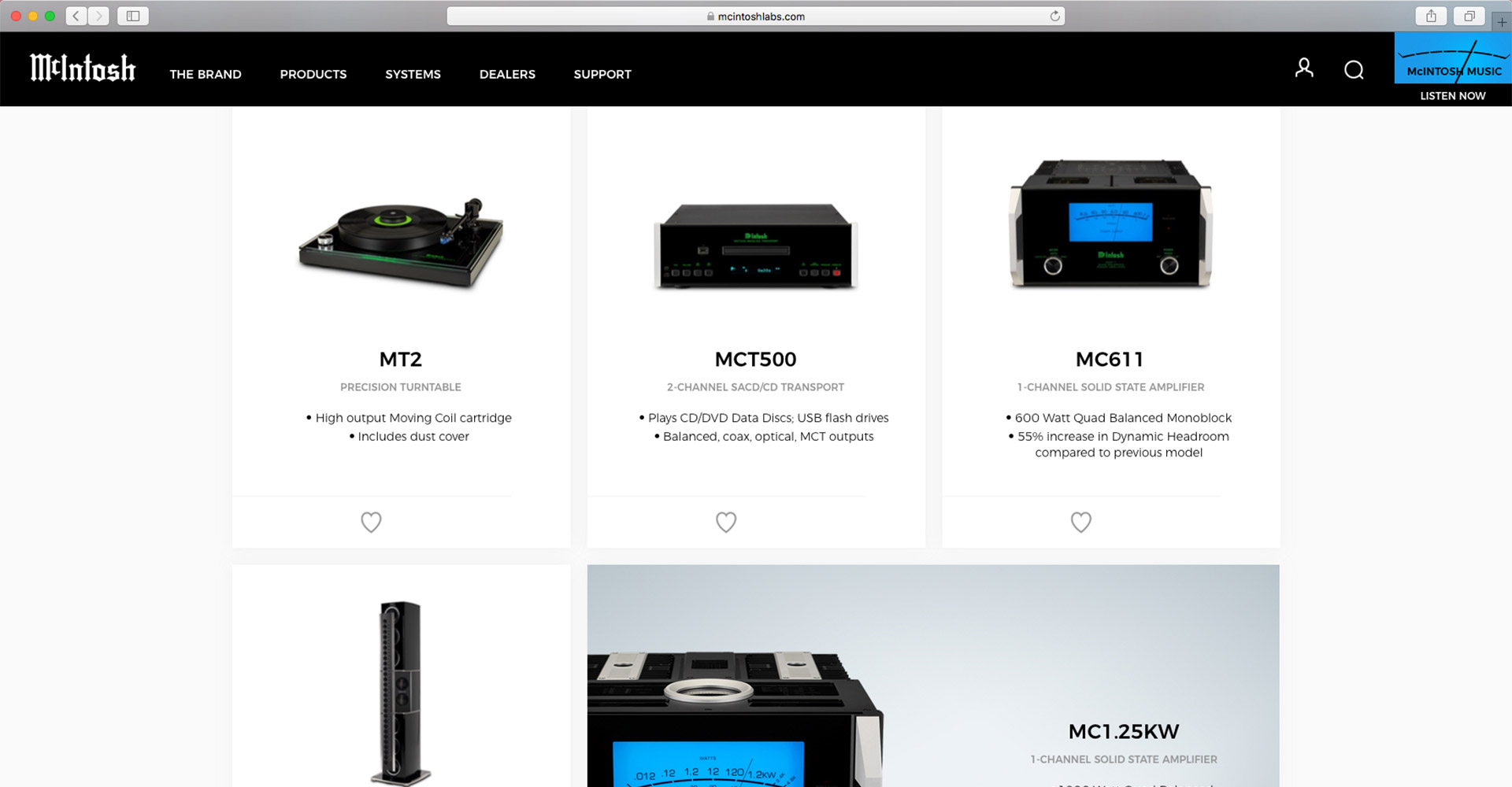 McIntosh Laboratory | Web Development