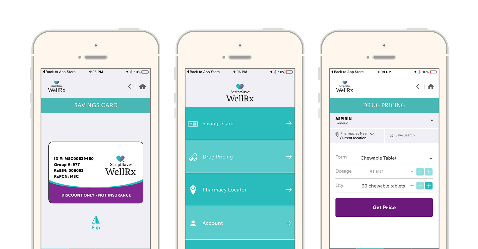scriptsave wellrx mobile app